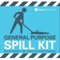 General purpose spill kit label for bag spill kits