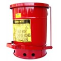 Justrite oily waste can 53 litre