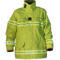 Structural Fire Fighting Coat - Lime Green