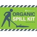 Organic spill kit label for front of wheelie bin