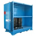 Dangerous goods stores for drums - 4 pallets