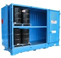 Dangerous goods stores for drums - 6 pallets