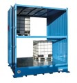 Dangerous goods stores for IBCs - 8 pallets double depth