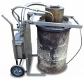 Vortex Inferno industrial waste burner - no flue